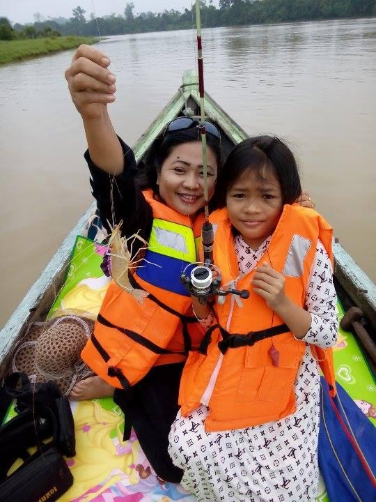 Cara Memancing di Sungai yang Keruh (Rahasia Plus Teknik)