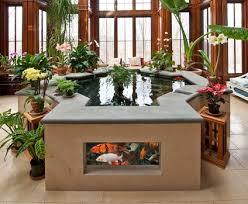 kolam ikan rumah minimalis unuk